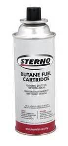 amazon com sterno 50130 8 ounce butane fuel cartridges