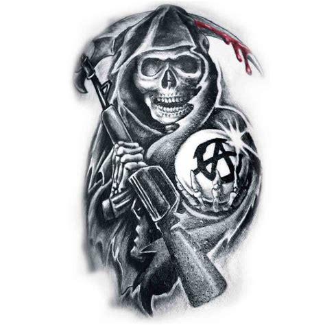 tatouage la faucheuse tatoo temporaire faucheuse quot sons of anarchy quot