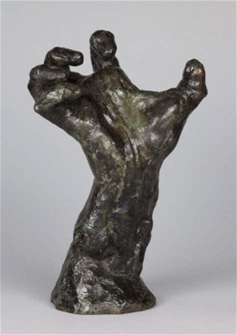 auguste rodin  clenched hand   french art