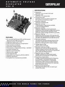 Caterpillar Generator 3408 Manual