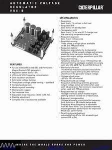 Caterpillar Generator 3408 Manual