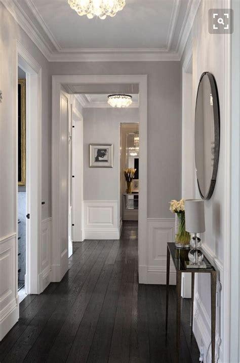 dark oak hardwood flooring hallway living room wood