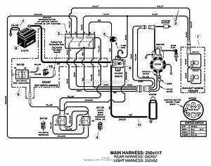 Inch Murray Lawn Mower Wiring Diagram