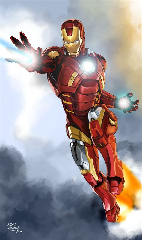 Iron Man Artwork by Iron Man By Nhtgkcn On Deviantart