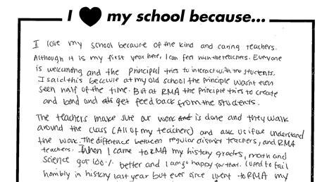 love  school  richard milburn academy schools