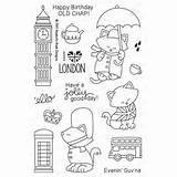 Newton Coloring Nook Stamp sketch template