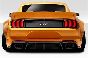 2019 Ford Mustang 2DR Wing Spoiler Body Kit - 2015-2019 Ford Mustang Coupe Duraflex Grid Rear ...