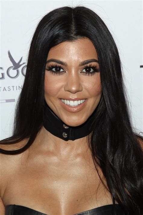 Kourtney Kardashian's beauty secrets