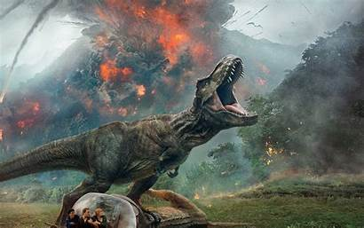 Jurassic Fallen Kingdom Dinosaur 4k Background Wallpapers
