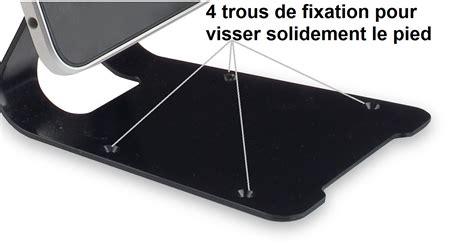 le sur pied avec tablette support antivol safe tech 174 avec cable antivol sur sbe direct