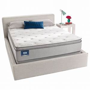 Simmons beautysleep titus pillow top queen size mattress for Best queen size pillows