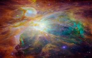 Orion Nebula HD Desktop Background Wallpaper 1293 ...