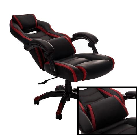 Gaming Recliner Chairs by Merax High Back Spacious Racing Style Gaming