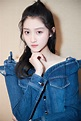 [Weibo] Guan Xiaotong at press event for 'Love of Aurora ...