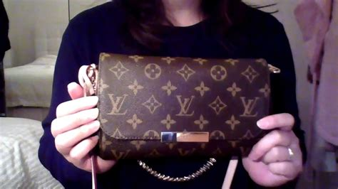louis vuitton favorite bag pm review youtube