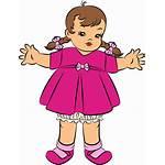 Doll Clipart Clip Cliparts Toys Dolls Barbie