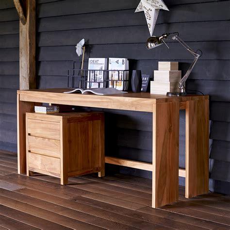natural wood desk top solid natural teak wood computer desk modern design
