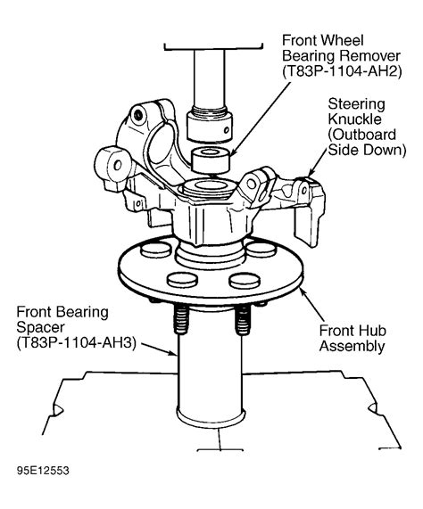 remove cv joint       replace ball