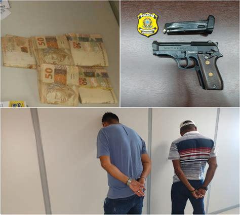 dois s 227 o presos em flagrante arma dinheiro e material de canha em branco elei 231 245 es