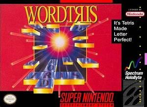 Wordtris SNES Super Nintendo