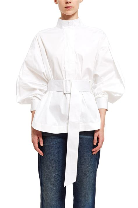 best opening ceremony opening ceremony belted sleeve top opening ceremony