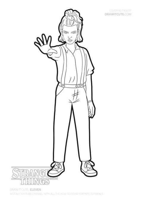 draw eleven stranger   draw  cute