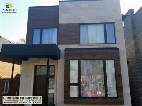 wood texture acp   facade   building aluminum composite panel  toronto