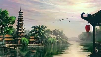 Vietnam Wallpapers War Landscape Vietnamese Painting Desktop