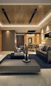 Luxury ultra modern interior design idea in private house ...