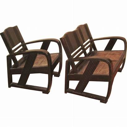 Deco Chinese Chair Settee Modernism Furniture Chairs