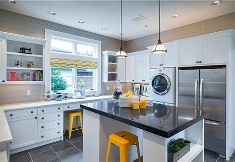 stylish family home  transitional interiors home