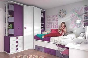 deco chambre d39ado fille exemples d39amenagements With deco de chambre d ado fille