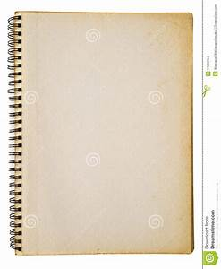 Opened Old Notebook Stock Images - Image: 17320794