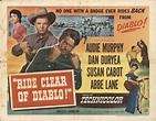 Ride Clear of Diablo 1954 Original Movie Poster #FFF-27059 ...