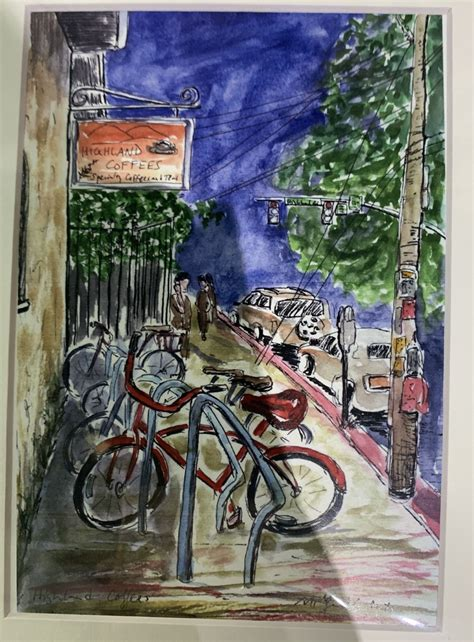 Ribs, premium aaa steak, lobster and much more at bâton rouge thornhill steakhouse & bar. Pin by ella robichaux on art (With images)   Coffee print, Highlands coffee, Pen and watercolor