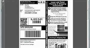 using a prepaid shipping label with mybusinessrecycles With create prepaid shipping label