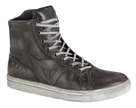 motorbike footwear dainese street rocker d wp shoes revzilla