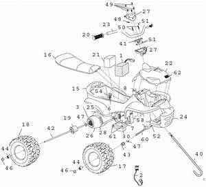 Power Wheels Sport Tracker Atv Parts