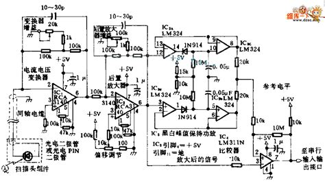 Photodiode Signal Conditioning Circuit Diagram Barcode