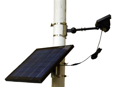 high end commercial solar led flagpole light wholesale