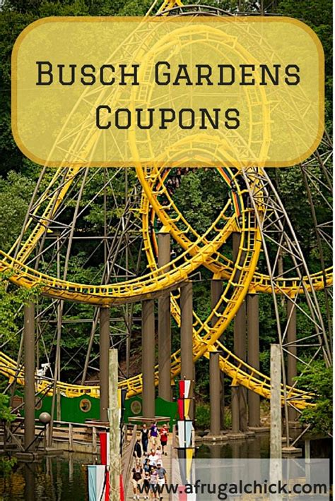 busch gardens tickets busch gardens williamsburg coupons