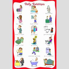 Daily Routines  My English Blog