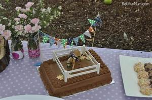 Easy Horse Themed Cake Be A Fun Mum