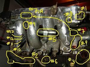 Intake Manifold Hose Diagrams