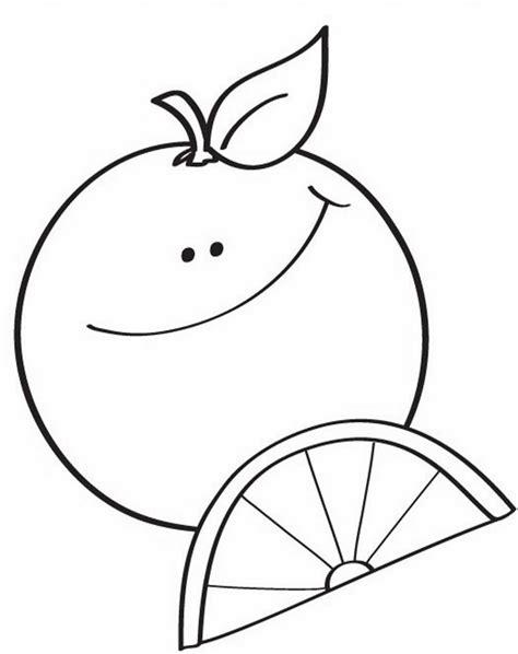 gambar mewarnai jeruk