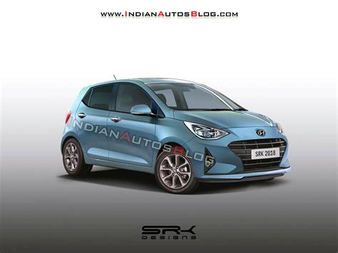 Hyundai Grand I10 2019 by 2019 Hyundai Grand I10 Iab Rendering