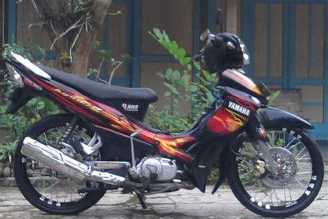 Modif Jupiter Z Standar by Modifikasi Jupiter Z Konsep Racing Thailook Road Race