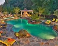 great patio pool design ideas Luxury Backyard Design Trends for 2015 | Backyard Mamma Blog