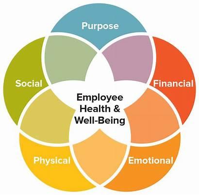 Balanced Employee Health Employees Diagram Well Being