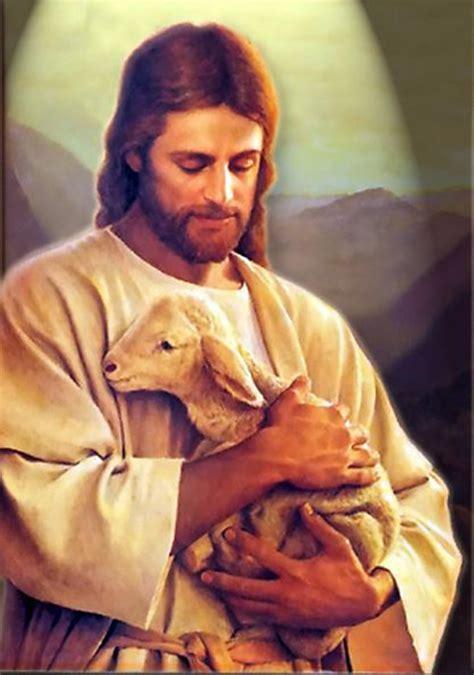 jesus and the lamb jesus photo 31753482 fanpop
